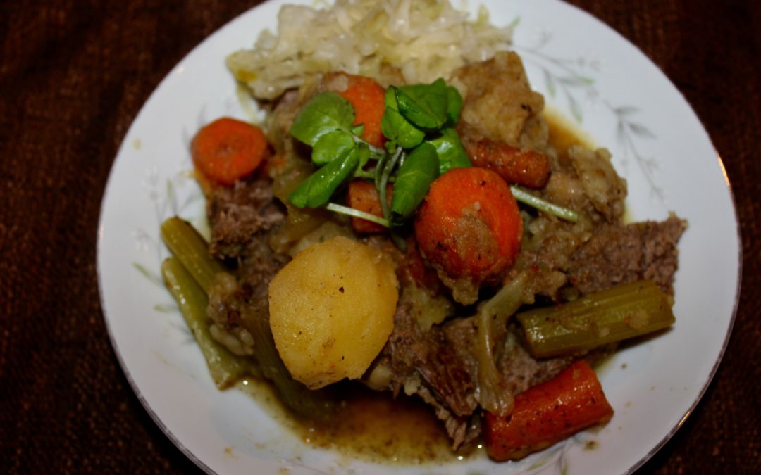 Fast Cooked Beef Stew With Slow Cooked Flavor